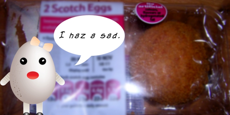 Scotch eggs - I haz a sad