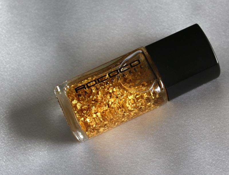 Rococo Nail Apparel Gold Leaf Lacquer