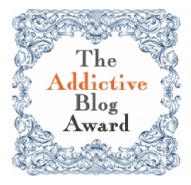 Addictive blog award icon