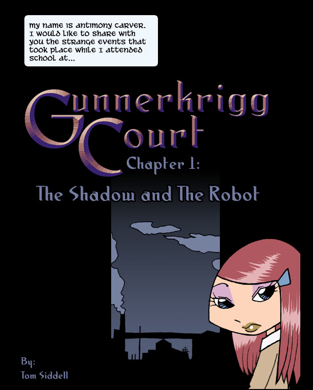 Gunnerkrigg Court by Tom Siddell