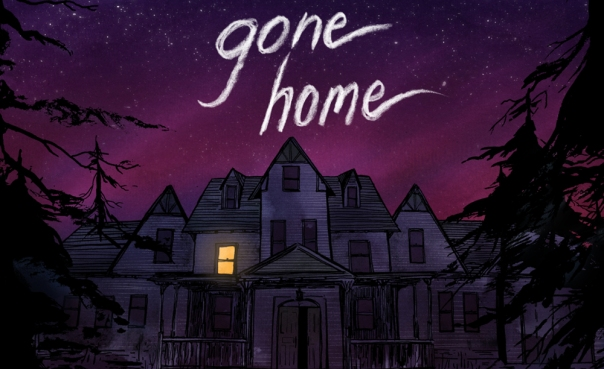 Gone Home opening screenshot