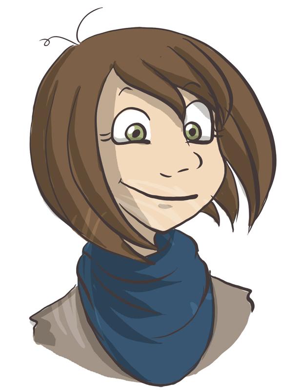 Kirsty Mordaunt - Manga Studio portrait