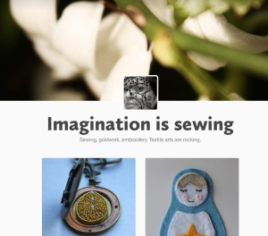 Imagination is sewing