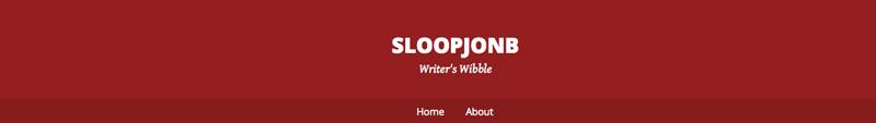 Writer's Wibble