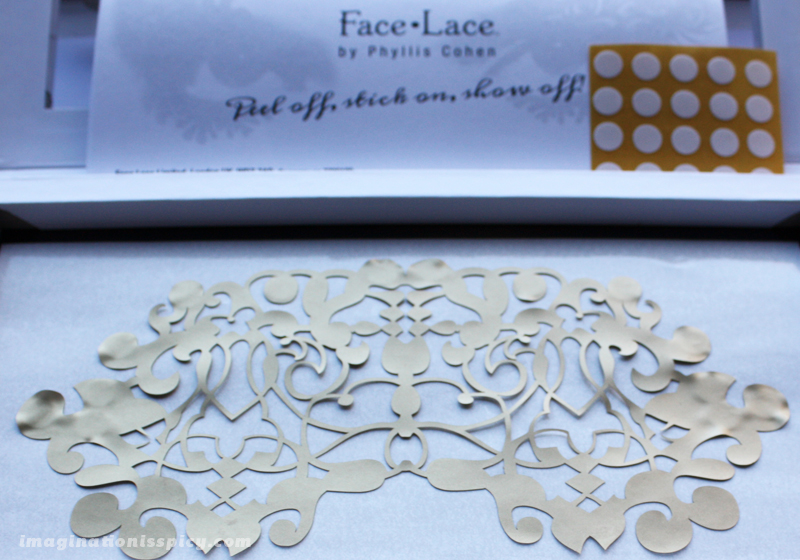 Face Lace - Nouveau Mask gold